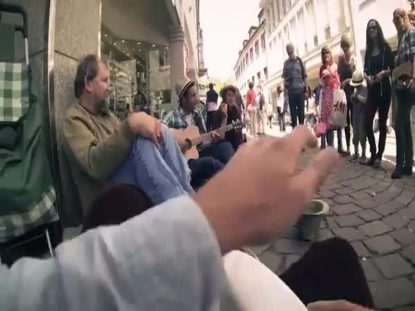 Dobrý skutek pro bezdomovce
