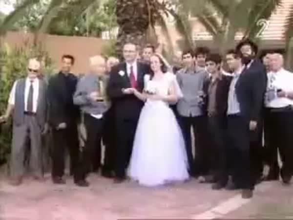 Focení na svatbě v Izraeli