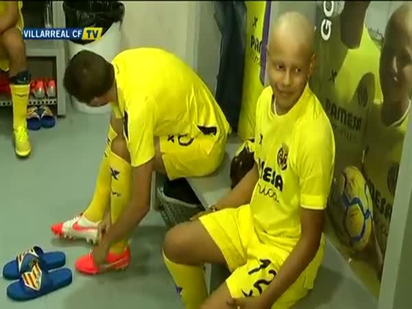 Chlapci s rakovinou se splnil sen