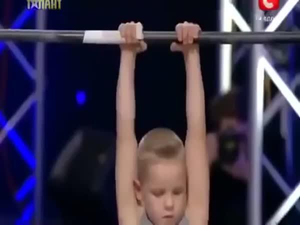 Borec - 7letý gymnasta