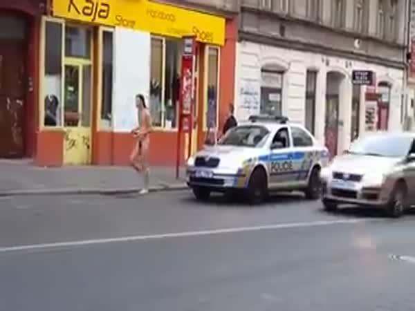 Naháč zaútočil na policistu - ČR