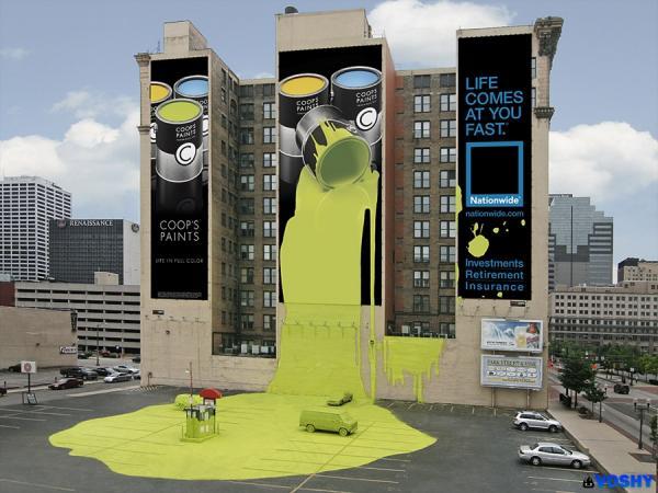 GALERIE - 30 kreativních billboardů