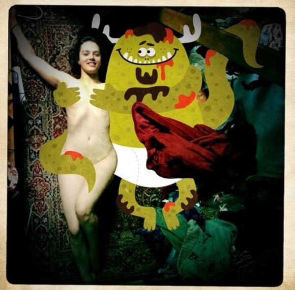 GALERIE - Vtipně zamaskované nahé fotky
