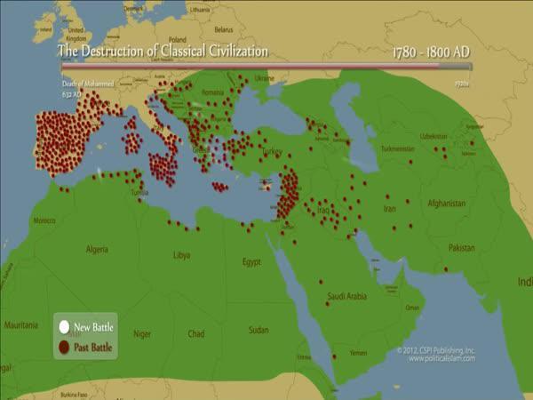 Postup islámu za 2 500 let