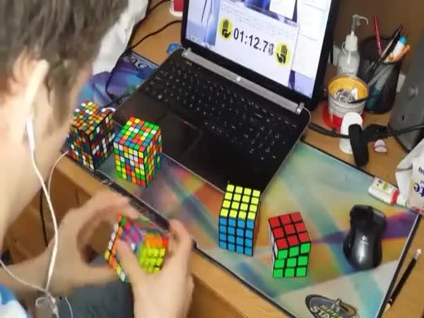 Šest obtížností Rubikovy kostky