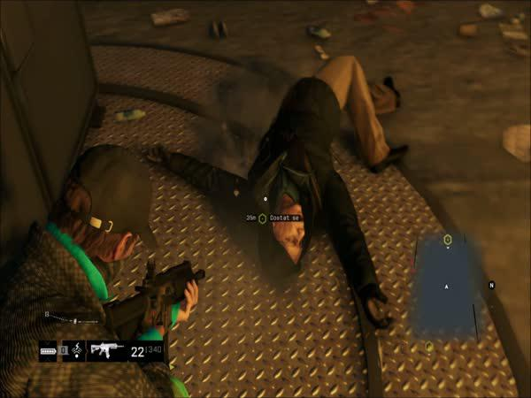 Watch Dogs break dance