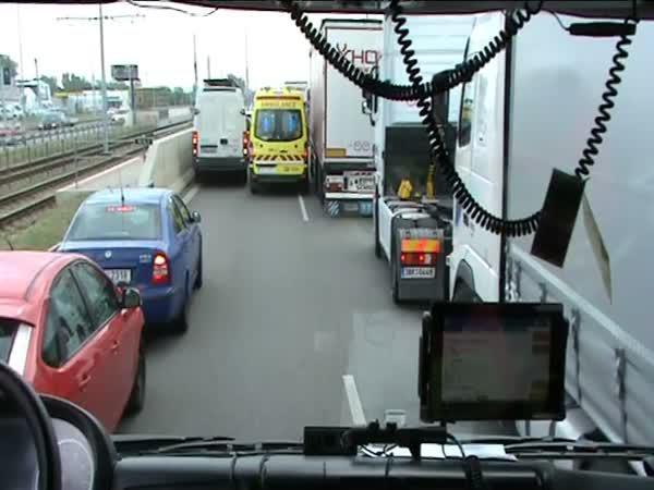 Přejezd hasičů: ČR vs Rakousko