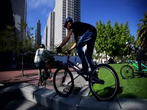 Parkour na kole