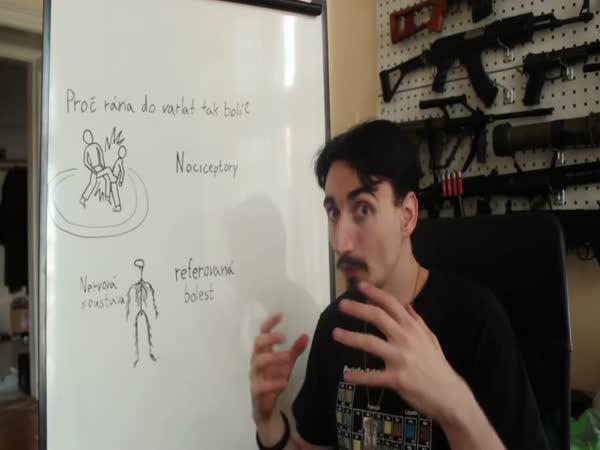 Vědecké kladivo - Rána do varlat