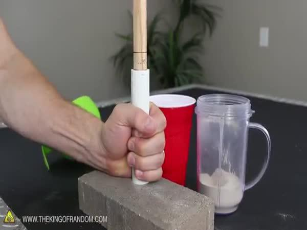 Domácí raketa z cukru