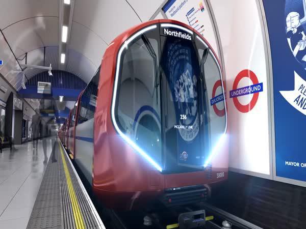 Nové londýnské metro z budoucnosti