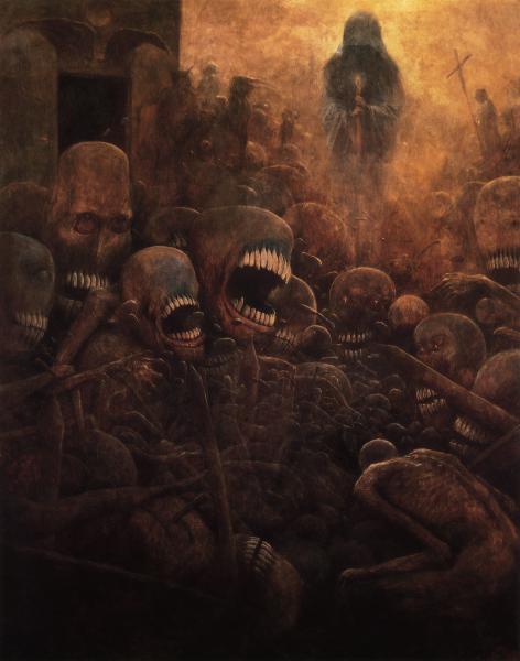 GALERIE - Jak vypadá peklo podle umělce