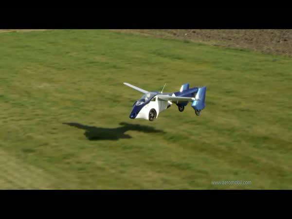 Létající automobil - AeroMobil