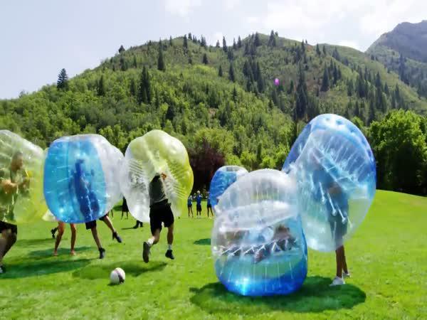 Bubbleball - nový druh sportu