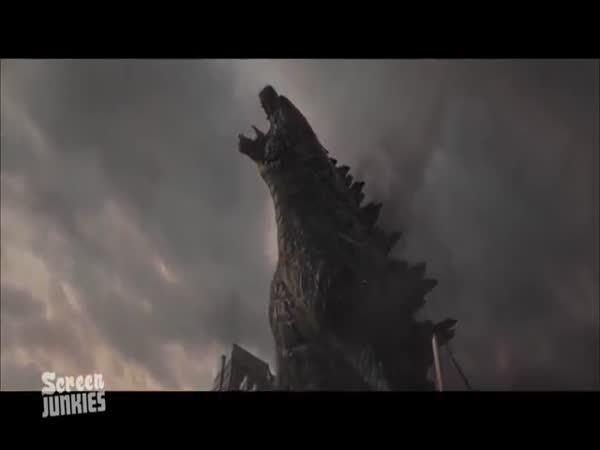 Upřímné trailery: Godzilla