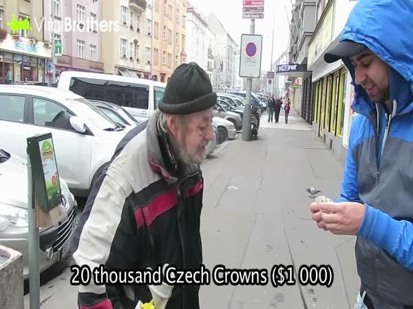 ViralBrothers - Poctivý bezdomovec