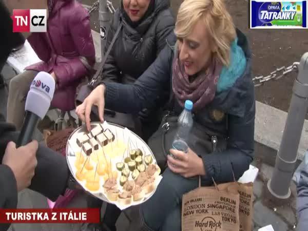 Testování českých potravin cizinci