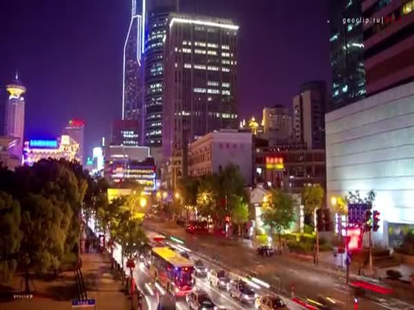 Timelapse - Šanghaj