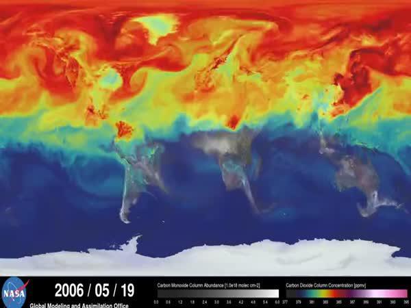 Animace - Koloběh oxidu uhličitého