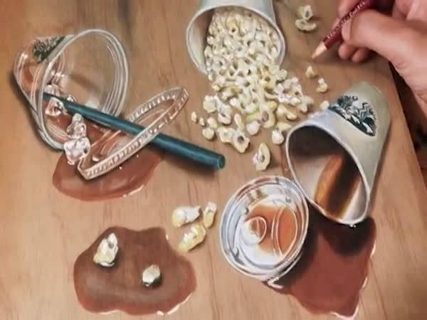 Hyperrealismus - 3D kresby