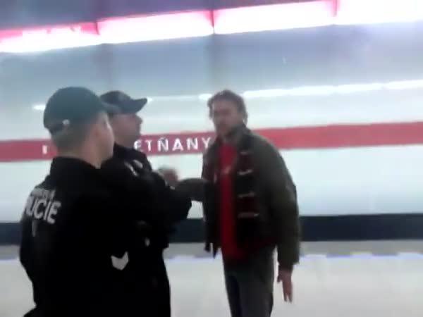 Fanoušek Sparty v Praze Letňanech