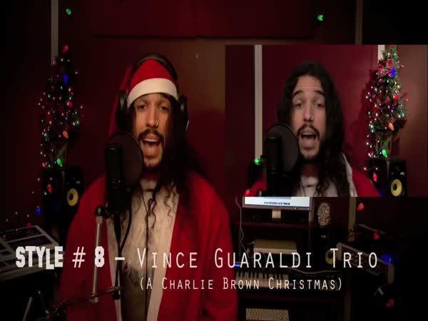 Vánoční song ve 20 různých stylech