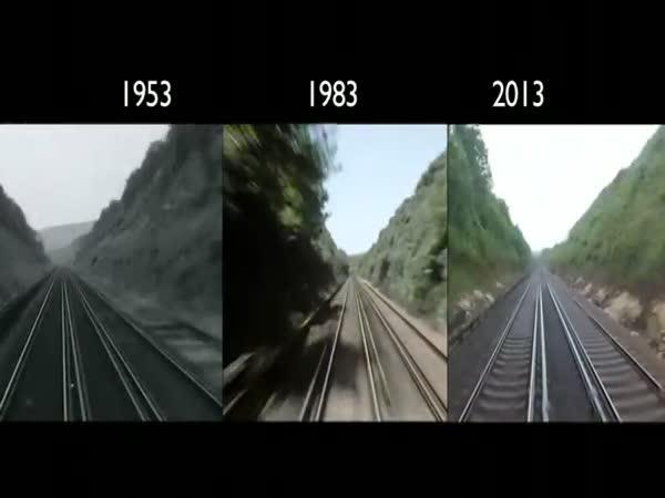 Vlakem z Londýna 1953–2013
