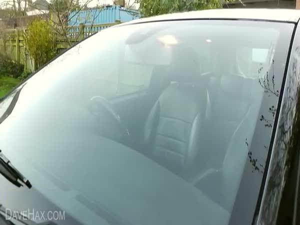 NÁVOD - orosená okna v autě