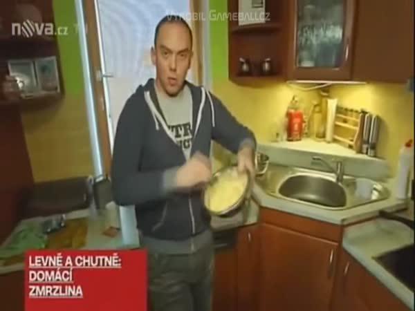 Láďa Hruška - domácí zmrzka