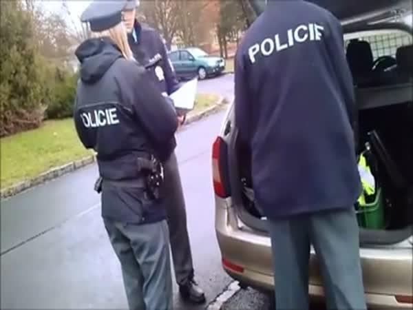 Česká republika - policie vs řidič