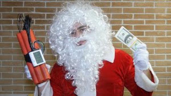 Psychopatický Santa Claus