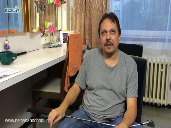 Muž, který napadl kurýra promluvil