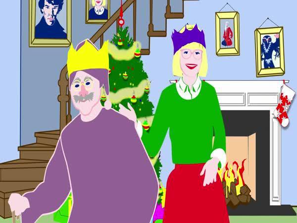 Britské versus americké Vánoce