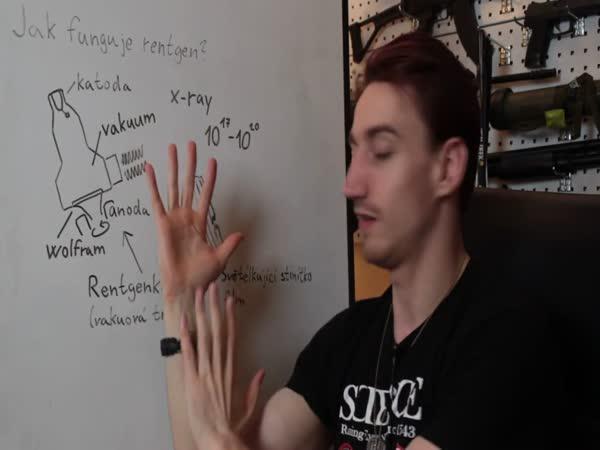 Vědecké kladivo - Rentgen