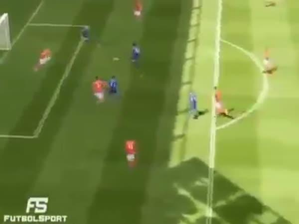 Nepříčetný hřáč hry FIFA