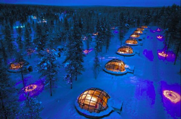 GALERIE - Ledové hotely