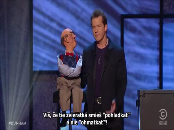 Jeff Dunham - břichomluvecká show