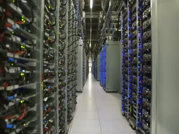 Datová centra od Googlu