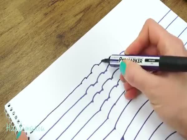 Jak nakreslit 3D ruku
