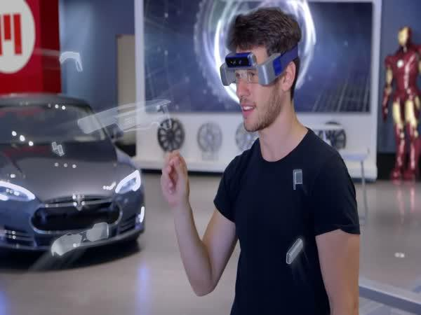 Chytré brýle budoucnosti