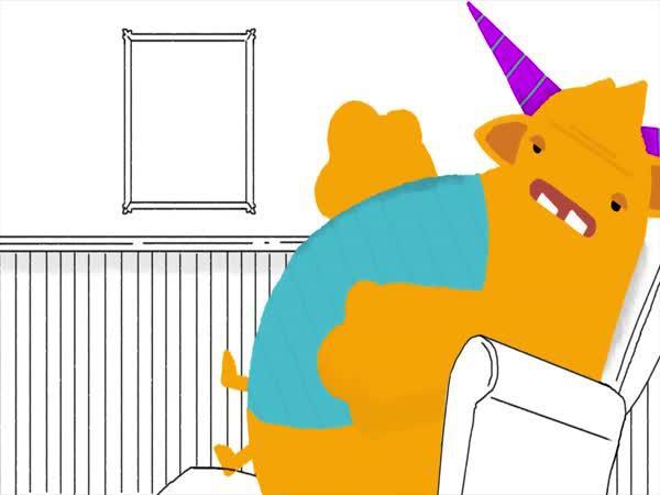 Život lenocha - animace