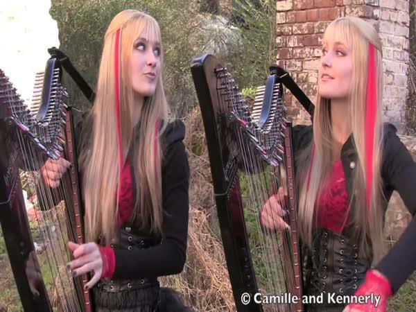 IronMaiden na harfy