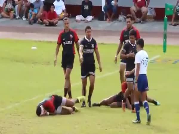 Rugby - povedený simulant