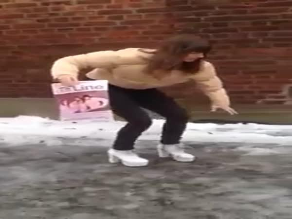 Zrádné podpatky na ledovce