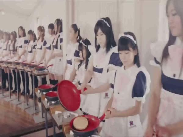 Reklama – 100 japonských dívek