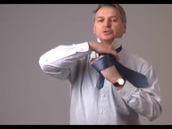 Návod - Vázání kravaty