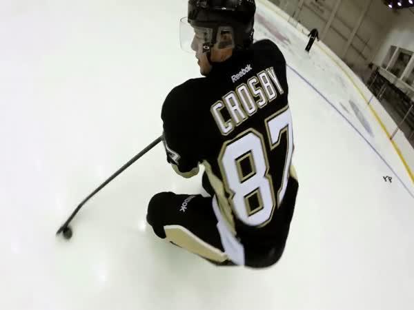 GoPro - Sidney Crosby na ledě