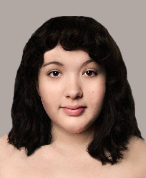 GALERIE - změna ženy ve Photoshopu