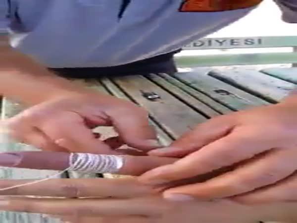 Návod - Jak sundat prsten