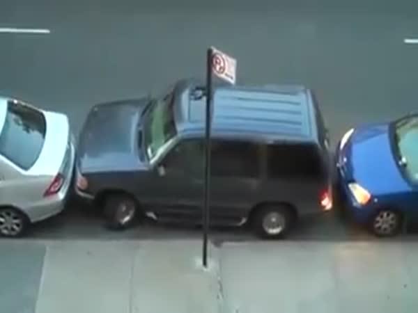 Špatné zaparkování